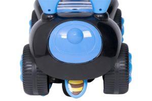 Lustakas tõukeauto – sinine