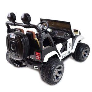 Politsei Jeep 4×4, MP4 LCD!