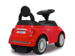 Pealeistumisauto lastele Fiat 500 punane