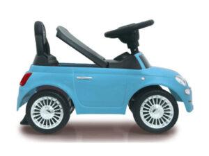 Pealeistumisauto lastele Fiat 500 sinine