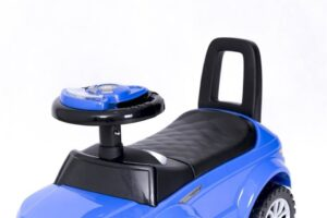 Pealeistutav laste tõukeauto Land Rover Sinine