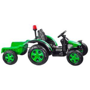 Laste traktor roheline