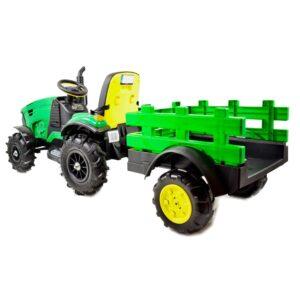 Laste traktor roheline SuperTractor