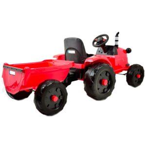 Laste traktor Mega punane