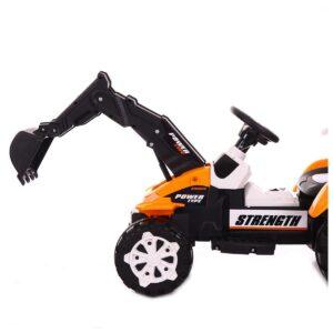 Laste elektriline traktor-kopp