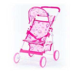 Laste nukuvanker roosa, alusega