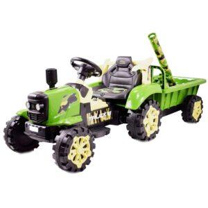 Laste elektriline sõjaväe, militaar traktor