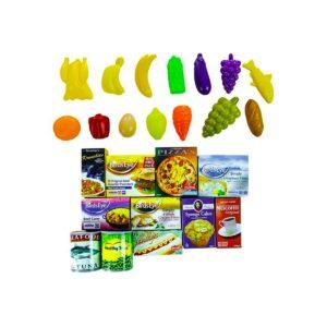 Ostukäru koos toiduainetega