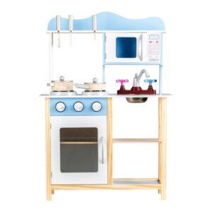 Puidust sinine mänguköök