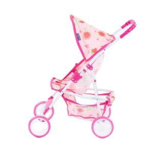 Laste nukuvanker roosa, alusega 2