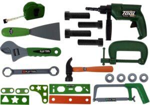 Suur tööriistade komplekt, palju erinevaid tarvikuid