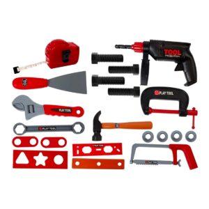 Suur tööriistade komplekt, palju erinevaid tarvikuid 2