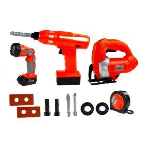 Suur tööriistade komplekt, palju erinevaid tarvikuid 3