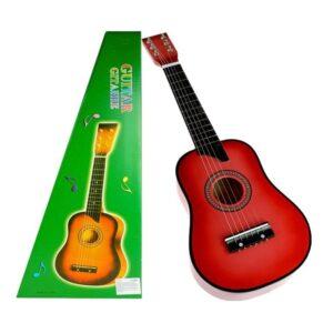 """Klassikaline puidust kitarr """"Punane"""""""