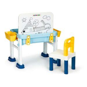 Lego klotside laud koos joonistustahvliga