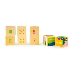 Klotsidest lõbus puzzle, 3tk ver.2
