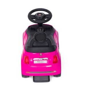 Pealeistumisauto lastele Fiat 500 roosa