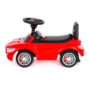 Pealeistutav tõukeauto Mercedes punane